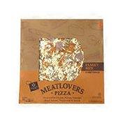 Signature Cafe Mozzarella Cheese, Italian Sausage, Hard Salami, Pepperoni & Bacon Meatlovers Pizza