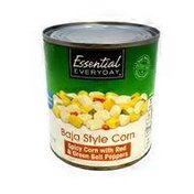 Essential Everyday White & Gold Corn With Pepper