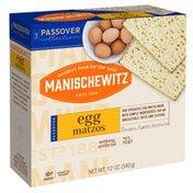 Manischewitz Matzos, Egg