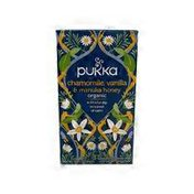 Pukka Chamomile Vanilla Manuka Tea