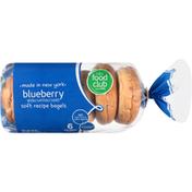 Food Club Blueberry Bagels