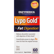 Enzymedica Lypo Gold, for Fat Digestion, Capsules