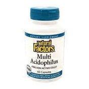 Natural Factors Multi Acidophilus
