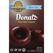 Kinnikinnick Donuts, Gluten Free, Chocolate Dipped