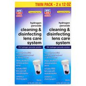Rite Aid Cleaning & Disinfecting Hydrogen Peroxide Solution 3% Lens Care System