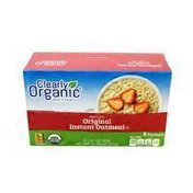 Clearly Organic Organic Original Instant Oatmeal