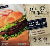 Dr. Praeger's Veggie Burgers, Gluten Free, Sweet Heat Beet