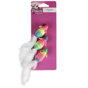 Paws Happy Life 3 Mice Toys For Cats
