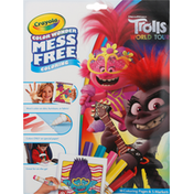 Crayola Coloring Pages & Markers, Trolls World Tour