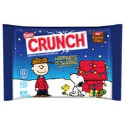 Nestle Crunch With a Charlie Brown design Chocolate Medallion