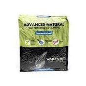 World's Best Cat Litter Advanced Natural High Performance Clumping Original Formula Fresh Natural Scent