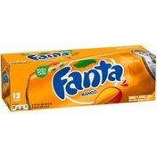 Fanta Mango Fruit Flavored Soda Soft Drink