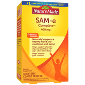 Nature Made SAM-e Complete®** 400 mg Tablets Value Size