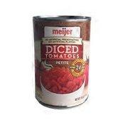 Meijer Petite Diced Tomatoes