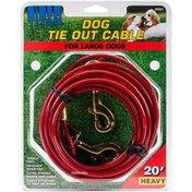 Coastal Pet 20 Inch Titan Heavy Cable Tie Out