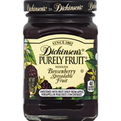 Dickinson's Spreadable Fruit, Boysenberry, Seedless