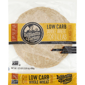 La Tortilla Factory Tortillas, Whole Wheat, Low Carb, Large Size