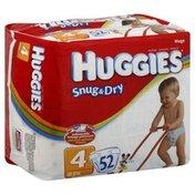 Huggies Diaper, Size 4 (22 - 37 lbs), Disney Baby, Mega