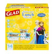 Glad Disney Frozen Assortment Lunch Variety Pack - 14 PC