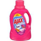 Ajax Concentrated Scent Party with Fab Raspberry Rose Laundry Detergent