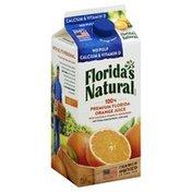 Florida's Natural 100% Juice, Orange, No Pulp, Calcium & Vitamin D