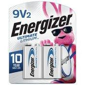 Energizer Lithium 9V Batteries, Lithium 9 Volt Batteries
