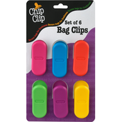 Chip Clip Bag Clips, Set of 6