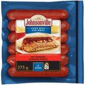 Johnsonville Hot Beef Smoked Sausage