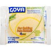 Goya Empanada Discos Dough for Baking