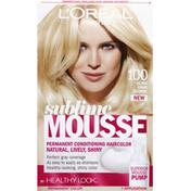 L'Oreal Mousse, Sublime, Ultra Light Blonde, 100
