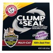 Arm & Hammer Clump & Seal Litter, Multi-Cat Litter