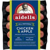 Aidells Smoked Chicken Sausage, Chicken & Apple, 3 lb. (15 Fully Cooked Links)