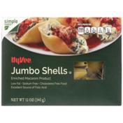 Hy-Vee Enriched Macaroni Product, Jumbo Shells