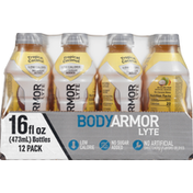 BODYARMOR Sports Drink, Low Calorie, Tropical Coconut, 12 Pack