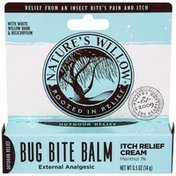 Nature's Willow Bug Bite Balm Itch Relief Cream