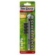 Slime Tire Gauge, 5-50psi, Blister Pack