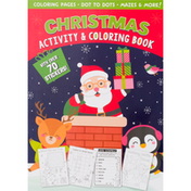 PaperCraft Activity & Coloring Book, Christmas