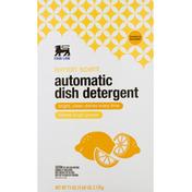 Food Lion Dish Detergent, Automatic, Lemon Scent, Box