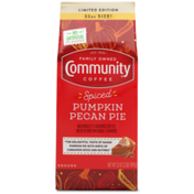 Community Coffee Spiced Pumpkin Pecan Pie Ground Coffee