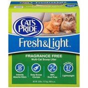 Cat's Pride Fresh & Light Fragrance-Free Multi-Cat Scoop Cat Litter