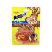 Nestle Nesquik Sipper Straw Glasses