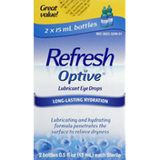 Refresh Lubricant Eye Drops, Great Value!