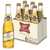 Miller High Life Beer LN Btl
