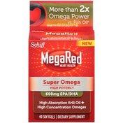 MegaRed Super Omega 600mg Softgels Dietary Supplement