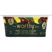 Worthy Bowl, Dark Cocoa Cherry