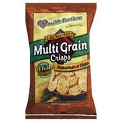 Sensible Portions Baked Snack, Multi Grain Crisps, Parmesan & Herb