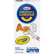 Kraft Crayola Macaroni and Cheese Dinner