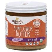 Naturally Nutty Sunflower Butter, Organic, Original