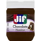 Jif Spread, Flavored Hazelnut, Chocolate