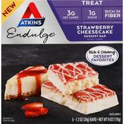 Atkins Dessert Bar, Strawberry Cheesecake